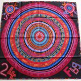 Authentic Hermes Carre Tohu Bohu Silk Scarf