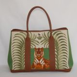 Authentic Hermes Garden Party Tigre Royale 35 Cm