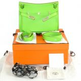 Authentic Hermes Jypsiere 28cm Grany Veau Swift Phw