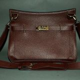 Authentic Hermes Rouge H Clemence Jypsiere 34 Cm Unisex Bag