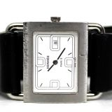 Authentic Hermes Silver Swiss Watch