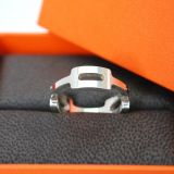 Authentic Hermes Sterling Silver 925 Ring Size 54 Us 65