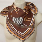 Authentic Hermes Vintage Scarf Clan Equestre Silk