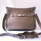 Hermes Etoupe Jypsiere 35 Cm Unisex Shoulder Bag