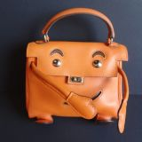 Hermes Kelly Idole kelly Doll Gulliver Orange Unique