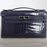 Hermes Kelly Mini Crocodile Niloticus Abysse Pdhw