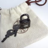 Hermes Lock and Keys So Black
