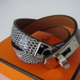 Hermes Ombre Kelly Double Tour Bracelet Lizard Phw Authentic