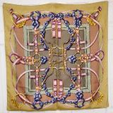 Hermes Silk Scarf In Box 35