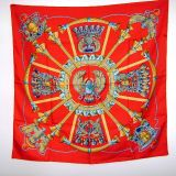 Hermes Vintage Silk Scarf New Without Tags Pristine