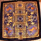 fake hermes shawl