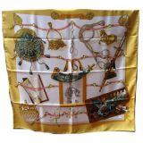 Hermes quotmemoire D 039hermes quotSilk Scarf