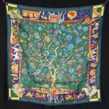 New Authentic Hermes Scarf Fantaisies Indiennes