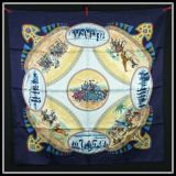 New Authentic Hermes Silk Scarf Cavaliers Peuls By Jean De Fougerolle
