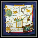 New Authentic Hermes Silk Scarf Memoire D 039Hermes W Box