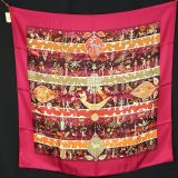 New Authentic With Tag Hermes Silk Scarf Rives Fertiles